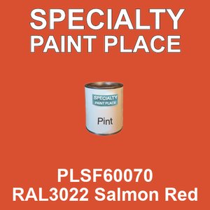 PLSF60070 RAL3022 Salmon Red - IFS pint