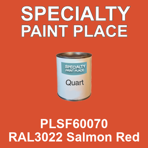 PLSF60070 RAL3022 Salmon Red - IFS quart