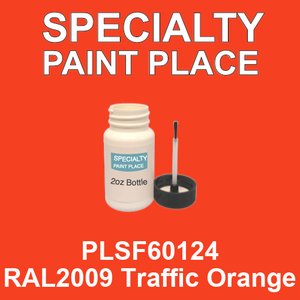 PLSF60124 RAL2009 Traffic Orange - IFS 2oz bottle