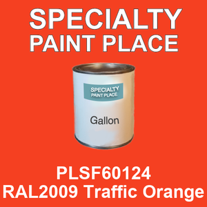 PLSF60124 RAL2009 Traffic Orange - IFS gallon