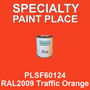PLSF60124 RAL2009 Traffic Orange - IFS pint