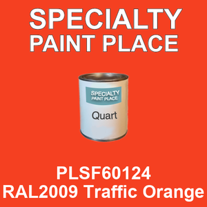 PLSF60124 RAL2009 Traffic Orange - IFS quart