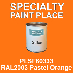 PLSF60333 RAL2003 Pastel Orange - IFS gallon