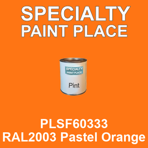 PLSF60333 RAL2003 Pastel Orange - IFS pint