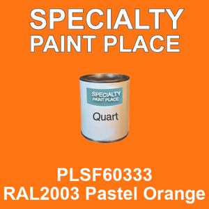 PLSF60333 RAL2003 Pastel Orange - IFS quart