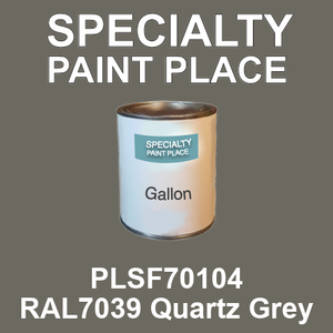 PLSF70104 RAL7039 Quartz Grey - IFS gallon