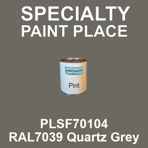 PLSF70104 RAL7039 Quartz Grey - IFS pint