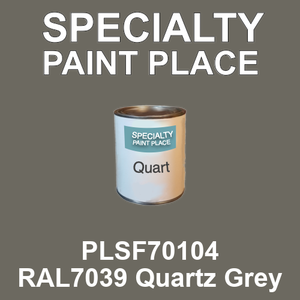 PLSF70104 RAL7039 Quartz Grey - IFS quart