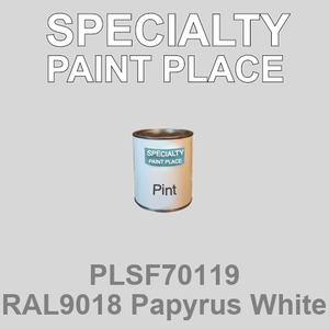 PLSF70119 RAL9018 Papyrus White - IFS pint