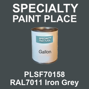 PLSF70158 RAL7011 Iron Grey - IFS gallon