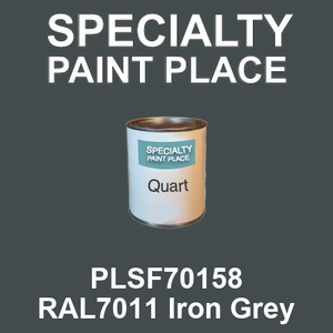 PLSF70158 RAL7011 Iron Grey - IFS quart