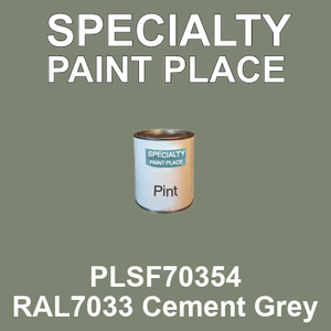 PLSF70354 RAL7033 Cement Grey - IFS pint