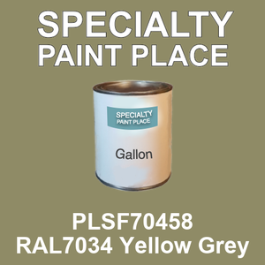 PLSF70458 RAL7034 Yellow Grey - IFS gallon