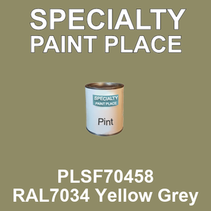 PLSF70458 RAL7034 Yellow Grey - IFS pint