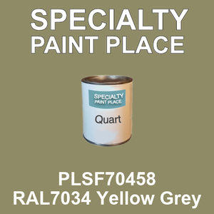 PLSF70458 RAL7034 Yellow Grey - IFS quart