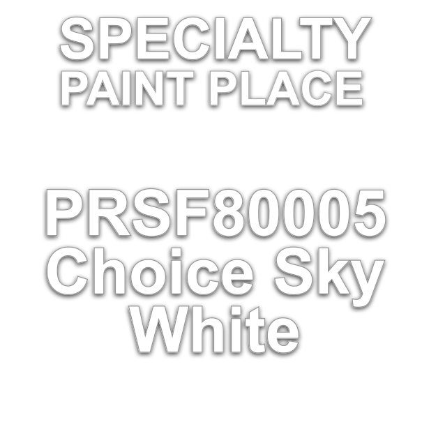 PRSF80005 Choice Sky White