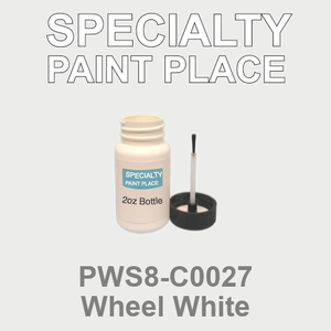 PWS8-C0027 Wheel White - Sherwin Williams 2oz bottle