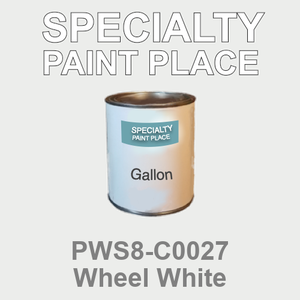 PWS8-C0027 Wheel White - Sherwin Williams gallon