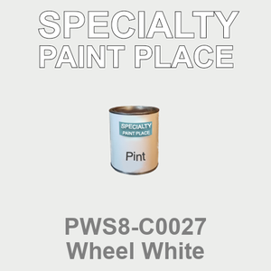 PWS8-C0027 Wheel White - Sherwin Williams pint