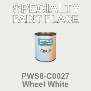 PWS8-C0027 Wheel White - Sherwin Williams quart