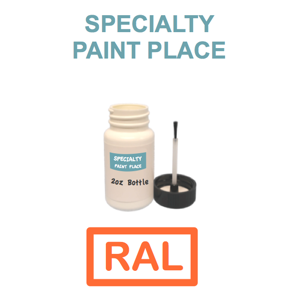RAL Touch Up Paint 2oz Bottle with Brush