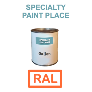 RAL Touch Up Paint Gallon Can