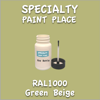 RAL 1000 Green Beige 2oz Bottle with Brush