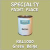 RAL 1000 Green Beige Gallon Can