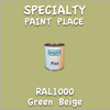 RAL 1000 Green Beige Pint Can