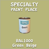 RAL 1000 Green Beige Quart Can