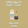 RAL 1001 Beige 2oz Bottle with Brush