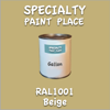 RAL 1001 Beige Gallon Can