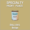 RAL 1001 Beige Quart Can