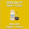 RAL 1003 Signal Yellow 2oz Bottle with Brush
