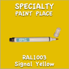 RAL 1003 Signal Yellow Pen