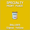 RAL 1003 Signal Yellow Pint Can