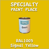 RAL 1003 Signal Yellow Quart Can