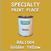RAL 1004 Golden Yellow Gallon Can