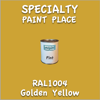 RAL 1004 Golden Yellow Pint Can