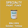 RAL 1004 Golden Yellow Quart Can