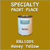RAL 1005 Honey Yellow Gallon Can