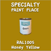 RAL 1005 Honey Yellow Quart Can