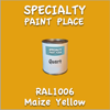 RAL 1006 Maize Yellow Quart Can