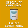 RAL 1007 Daffodil Yellow Gallon Can