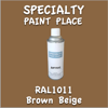 RAL 1011 Brown Beige 16oz Aerosol Can