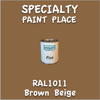 RAL 1011 Brown Beige Pint Can