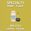 RAL 1012 Lemon Yellow 2oz Bottle with Brush