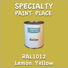 RAL 1012 Lemon Yellow Gallon Can