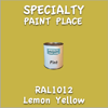 RAL 1012 Lemon Yellow Pint Can