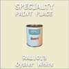 RAL 1013 Oyster White Quart Can